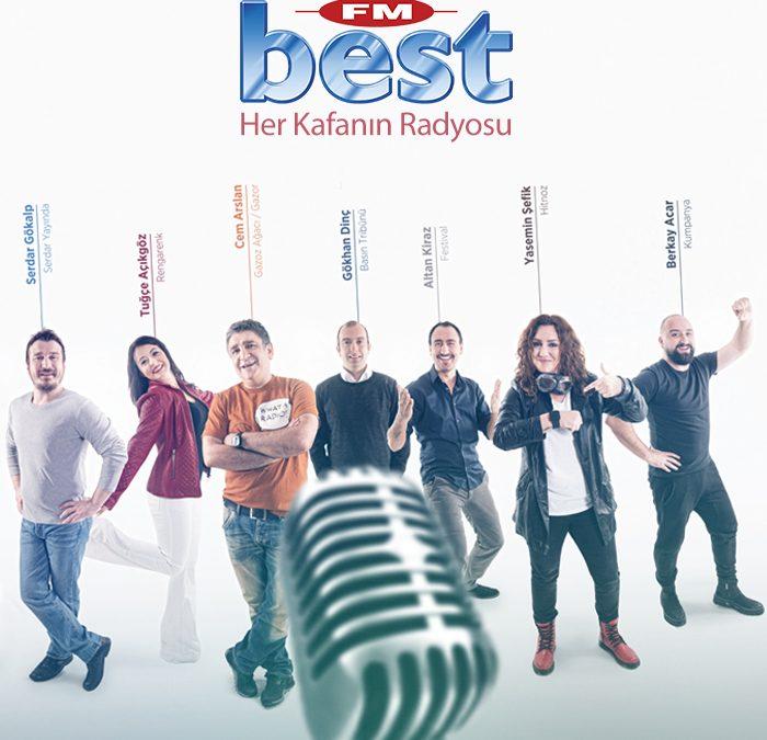 Best FM'de Yeni Yayın Dönemi!