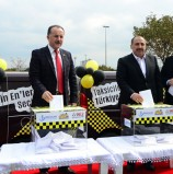 3. Taksiciler Ödül Töreninde Heyecan Başladı!