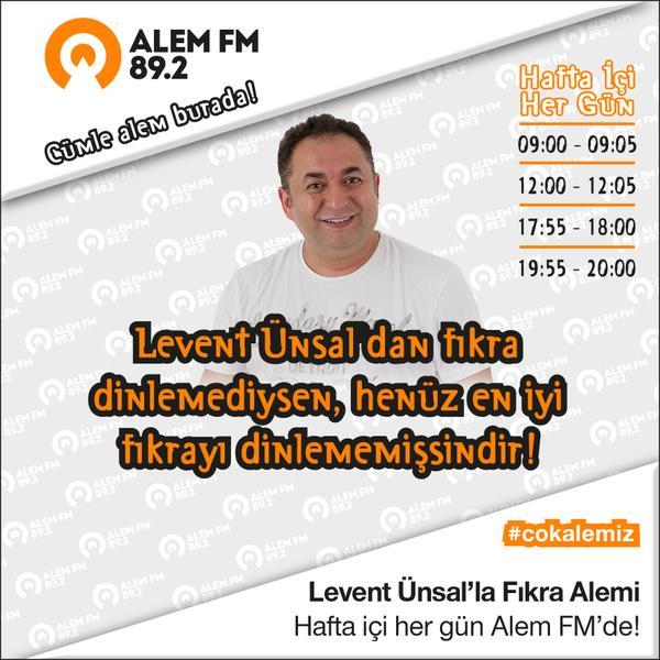 Levent Ünsal'da Alem FM'de!