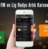 Alem FM ve Lig Radyo Karnaval'da!