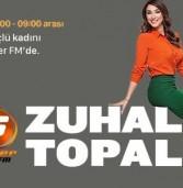 Zuhal TOPAL Artık Süper FM'de!
