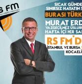 Murat Erdin RS FM İle Anlaştı!