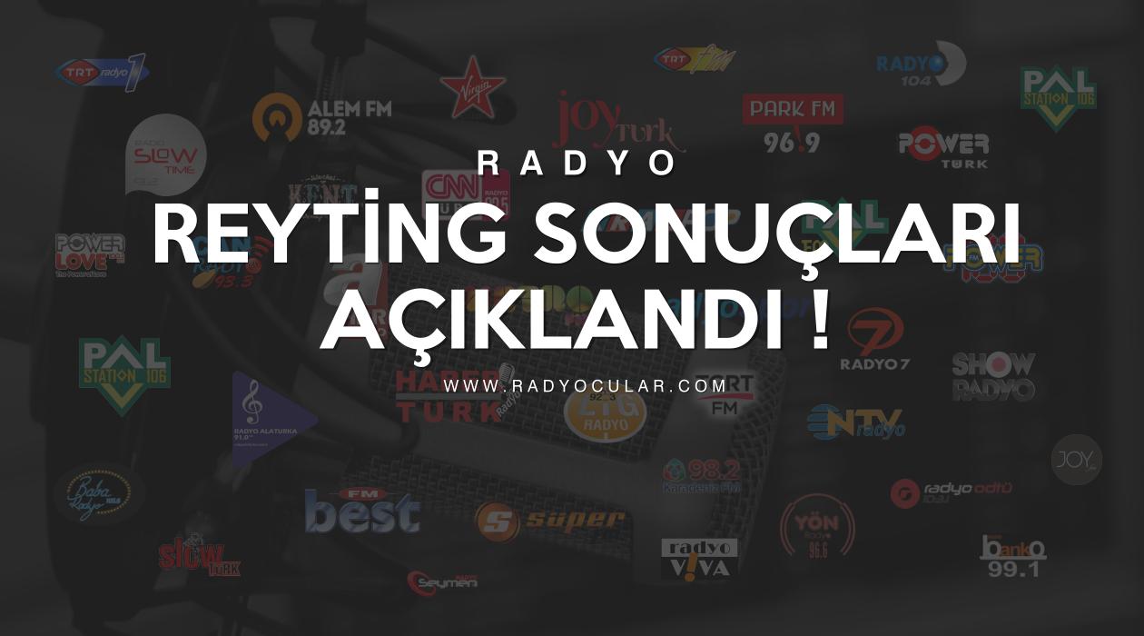 Eylül 2019 Radyo Reyting Sonuçları Açıklandı!