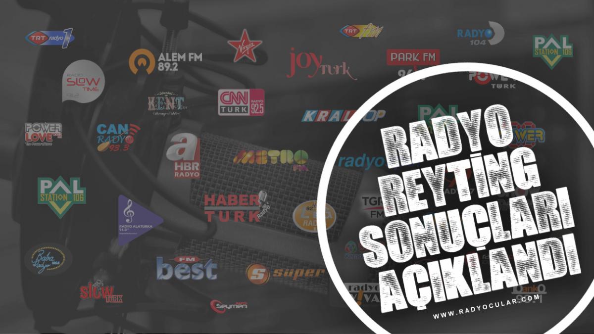 Mayıs 2016 Radyo Reyting Sonuçları Açıklandı!