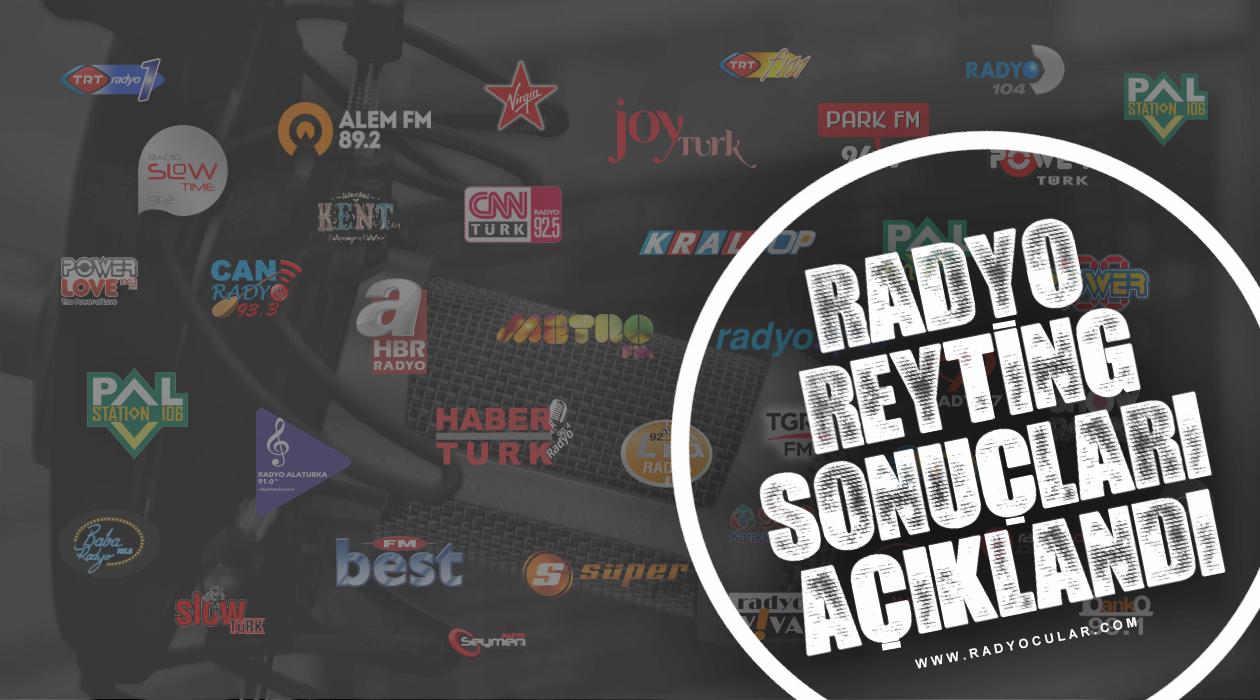 Nisan 2019 Radyo Reyting Sonuçları Açıklandı!
