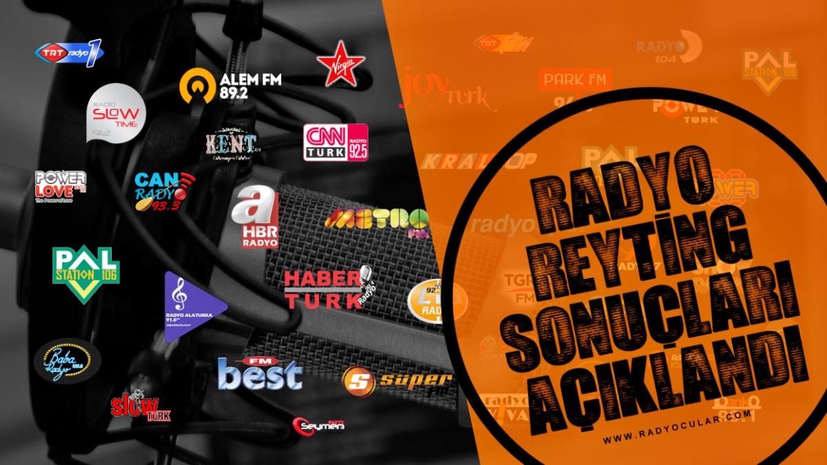 Aralık 2018 Radyo Reyting Sonuçları Açıklandı!