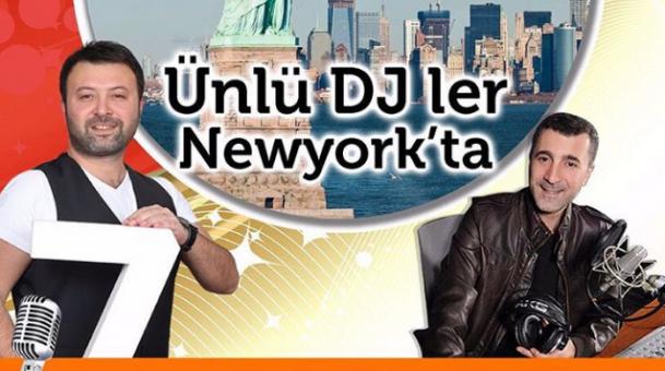 Ünlü Radyocular New York'ta!