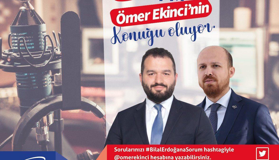 Bilal Erdoğan Moral FM'e Konuk Oluyor!