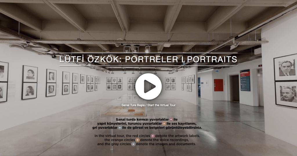 Lütfi Özkök: Portreler / İstanbul Modern Sergisi