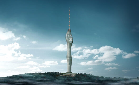 yeni çamlıca radyo ve televizyon kulesi